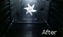 Inside Oven After Cleaning